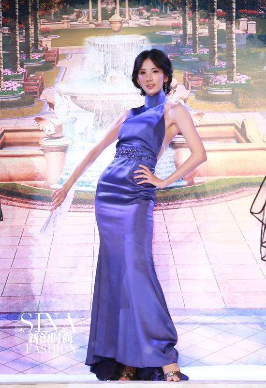 林志玲旗袍穿出新风味