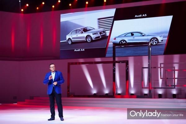 一汽-大众奥迪销售事业部总经理任思明讲述全新奥迪A5的传承与创新