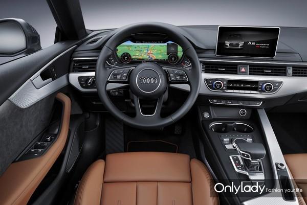 极具科技感的全新奥迪A5驾驶舱
