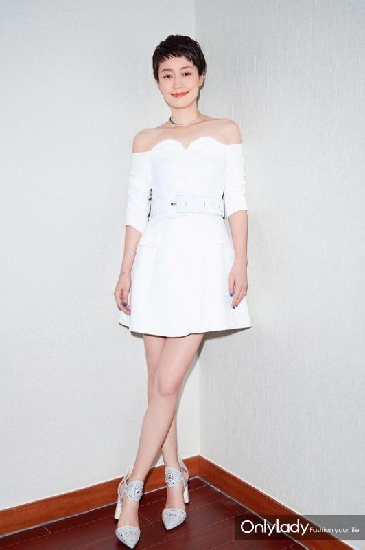 2017年6月29日,上海,马伊琍出席《我的前半生》发布会。