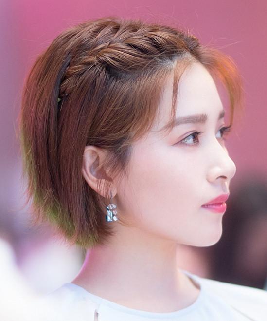 2017年7月3日,阚清子出席代言品牌活动。