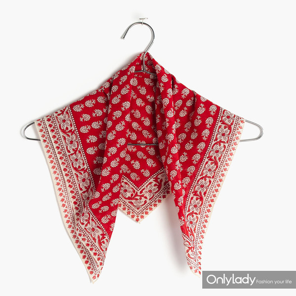 red-scarf