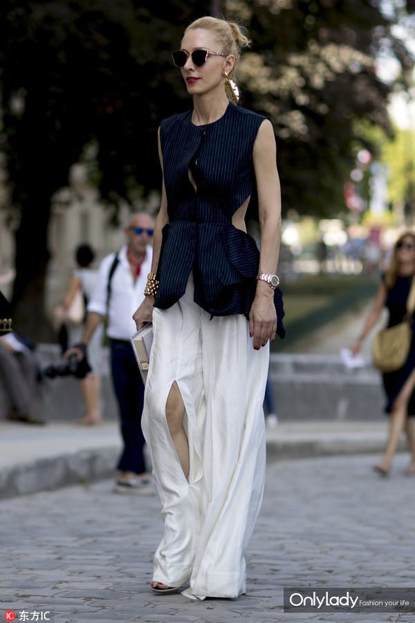 时尚买手 Elina Halimi   2018 SpringSummer Paris Men's Fashion Week Street Snap