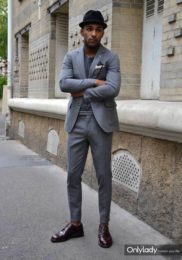 Grey-skinny-suits-for-men