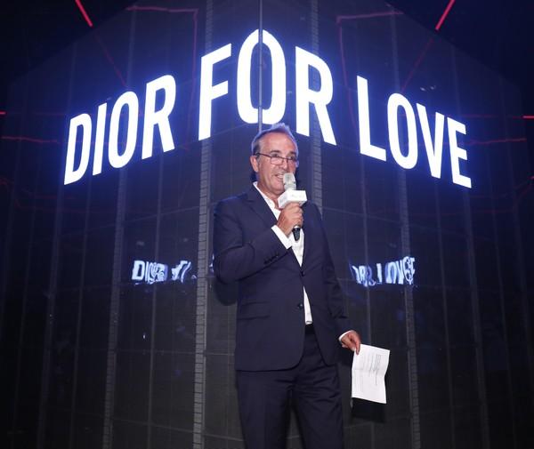 Dior迪奥香水化妆品全球总裁Claude Martinez先生宣布全新Miss Dior迪奥小姐香水广告大片全球首发