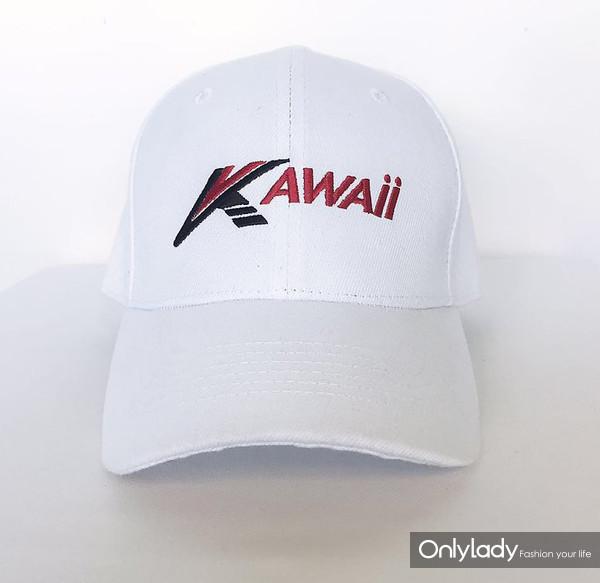 kawaii# 白色帽子 432