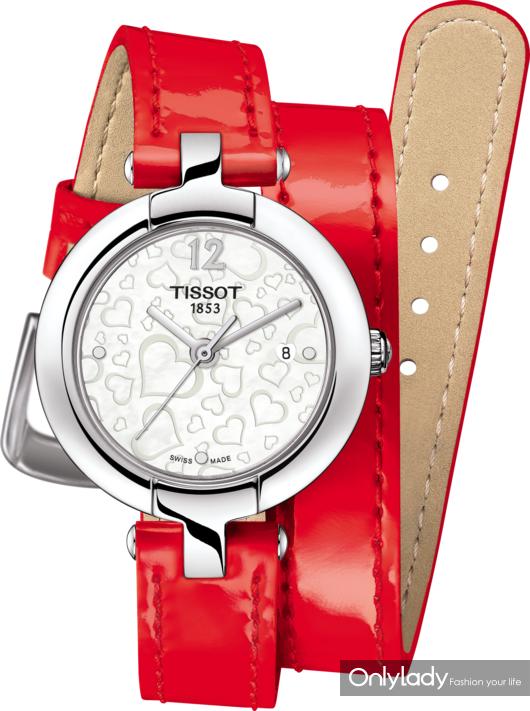 5:天梭粉彩系列腕表