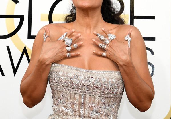 2017年1月9日讯,好莱坞比弗利山庄,当地时间1月8日,第74届美国电影电视金球奖颁奖典礼( 74th Annual Golden Globe Awards)。