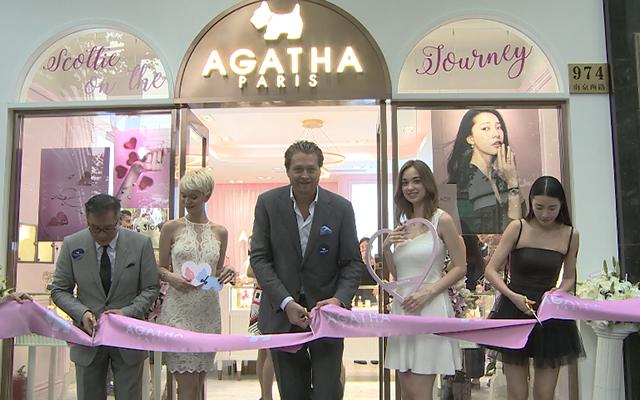 法国时尚珠宝品牌AGATHA上海新形象旗舰店华丽开幕