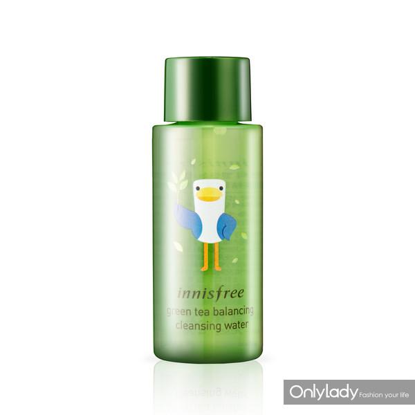 绿茶精萃保湿平衡卸妆液
