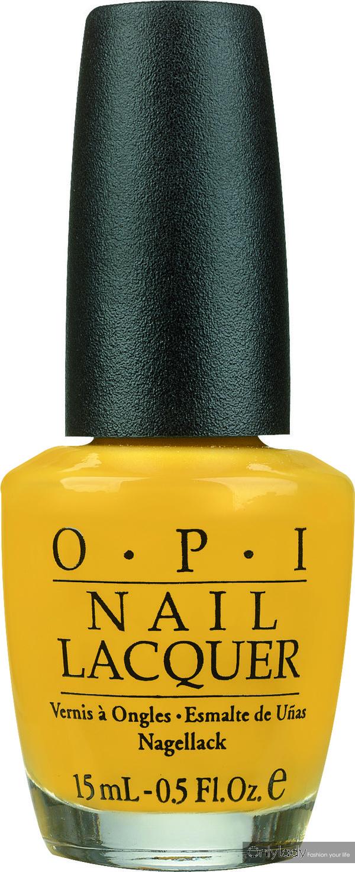 opi指甲油-鹅黄色15ml/108元