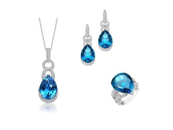 高级珠宝系列伦敦蓝托帕石