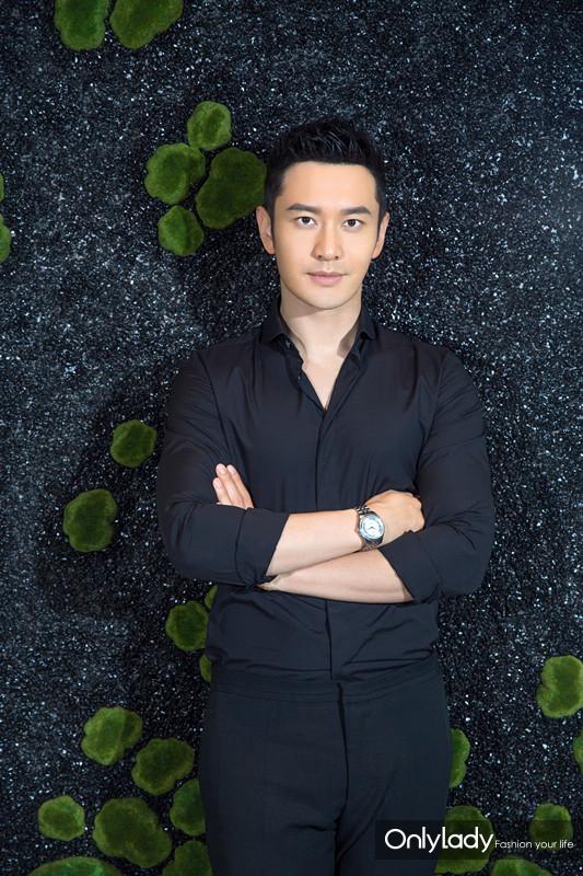 9:黄晓明诠释天梭宝环系列腕表