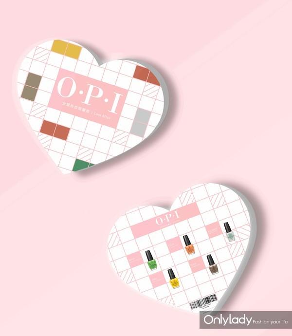O.P.I全城热恋七夕限量版礼盒