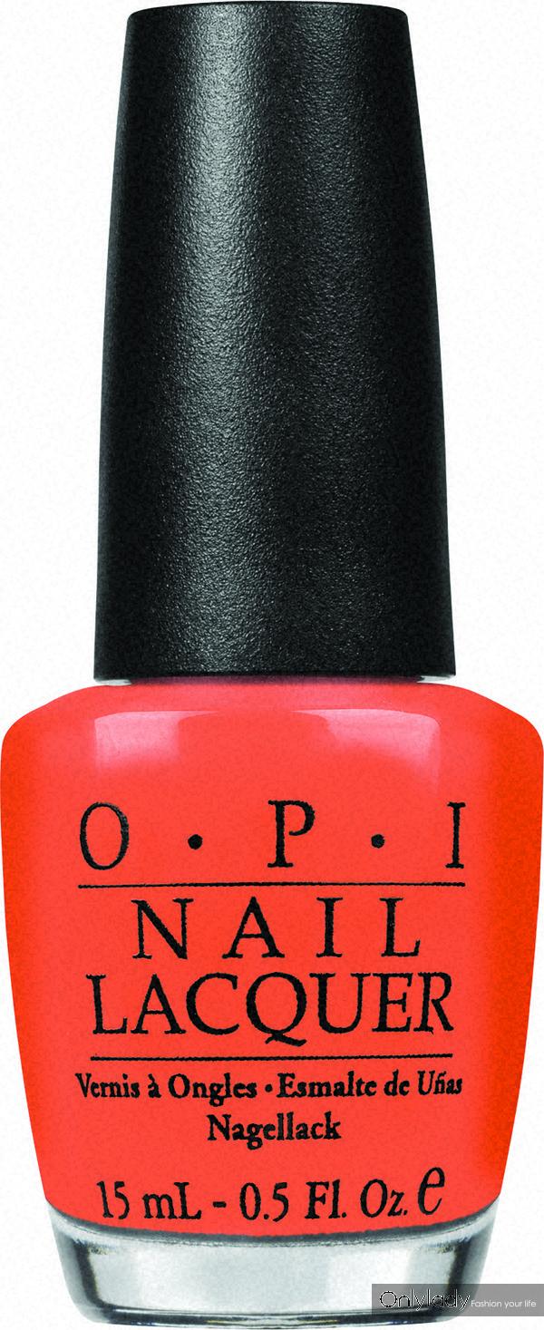opi指甲油-桔红色15ml/108元