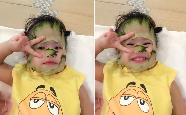 美妆精明购丨 保养从娃娃抓起准没错 包贝尔2岁的小公主都开始敷面膜