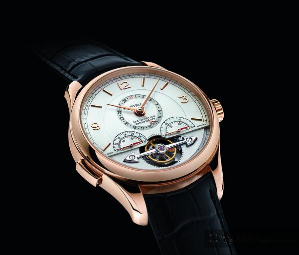 Chronométrie系列外置陀飞轮精准计时码表mood-1125421