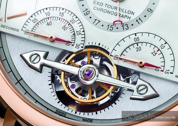 Chronométrie系列外置陀飞轮精准计时码表tourbillon-1125421