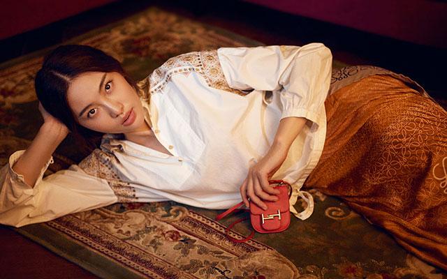CoverStar:超模陈碧舸演绎暖色狂想曲