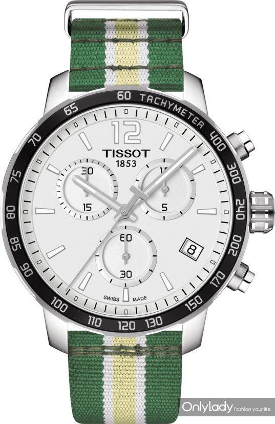 6:天梭时捷系列雄鹿队特别款腕表