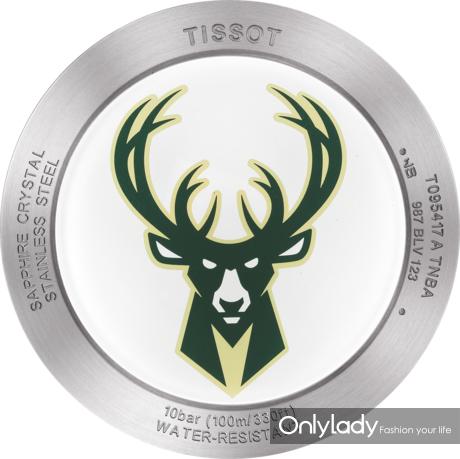 7:天梭时捷系列雄鹿队特别款腕表