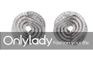 Cartier High Jewelry earrings, 18k white gold, diamonds