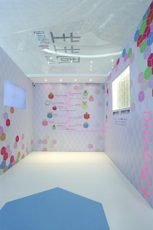 Daily Wear珠宝全国巡展活动展示区之一 创意音乐盒#自由随性# -2
