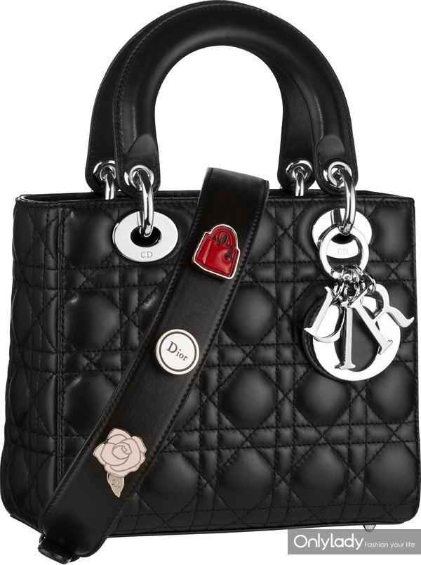 Lady Dior Small black