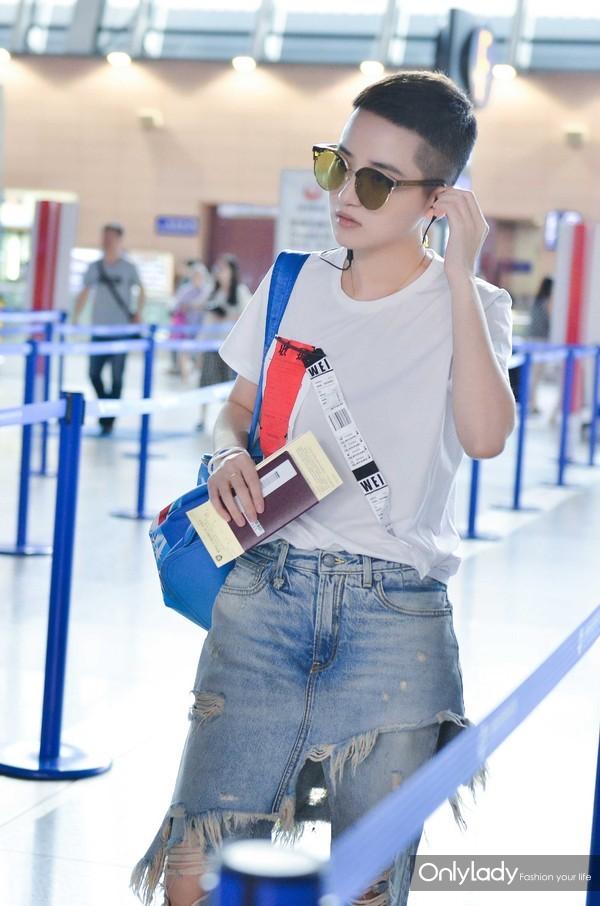 机场look青春率性 (3)