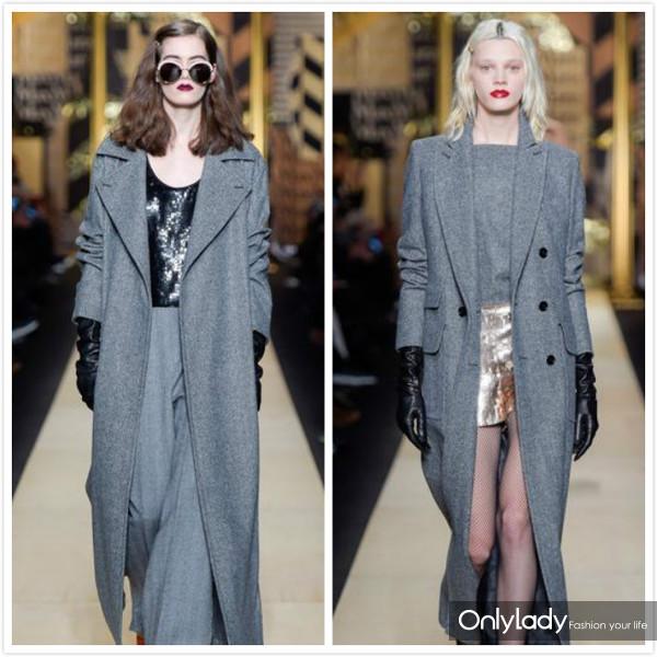 2016-3灰色大衣