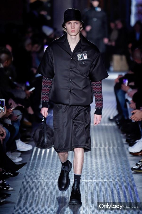 Prada Menswear FallWinter 2018秋冬男装发布