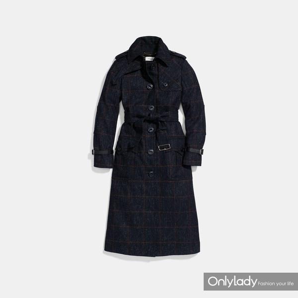 COACH 羊毛风衣