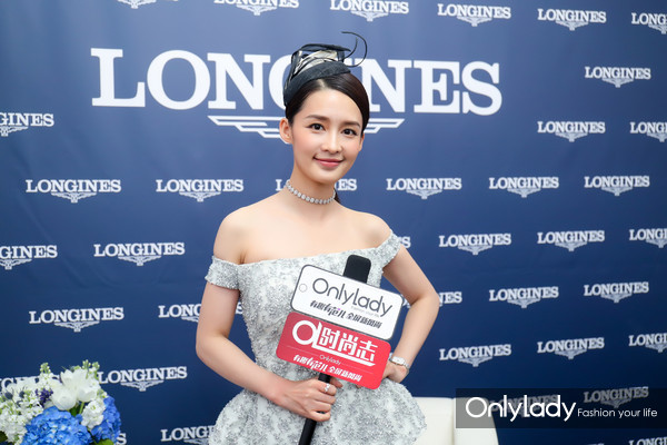 Onlylady专访李沁,为什么喜欢浪琴表?答案就在这里