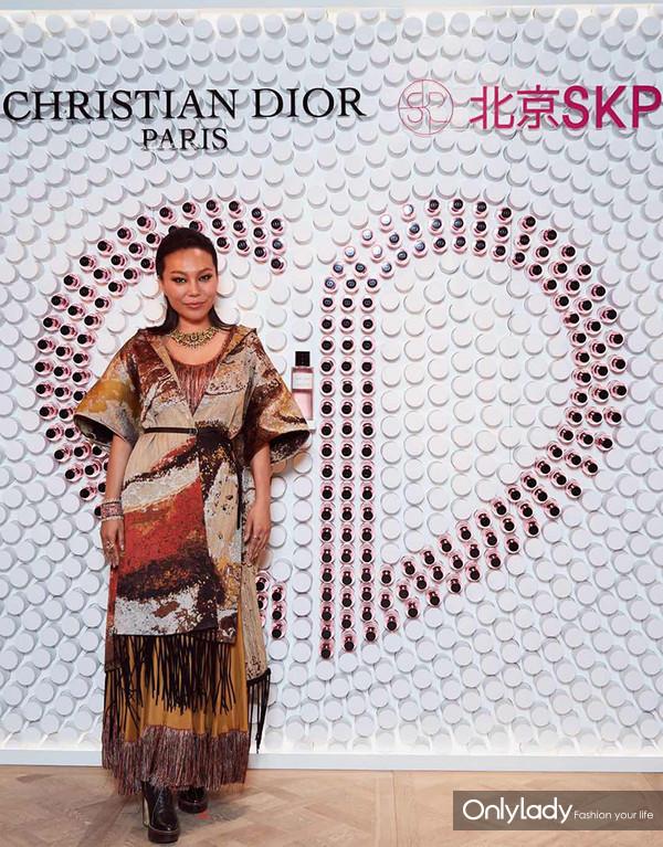 Dior迪奥香氛世家大使 知名珠宝设计师万宝宝