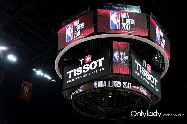1:天梭表倾力支持NBA中国赛上海站比赛