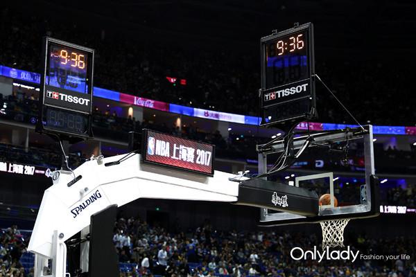 2:天梭表倾力支持NBA中国赛上海站比赛