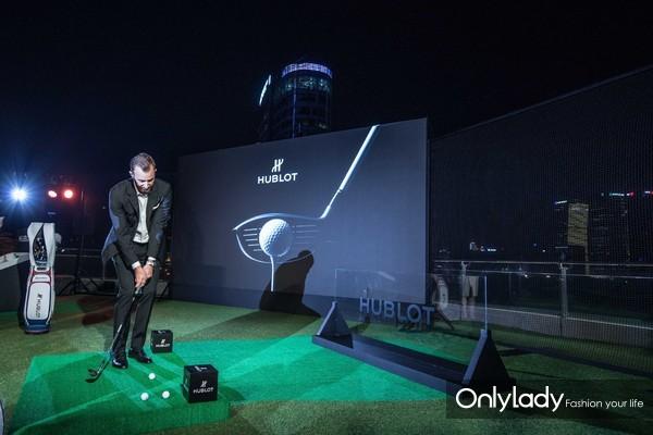 Big Bang Unico高尔夫腕表展现精湛球技
