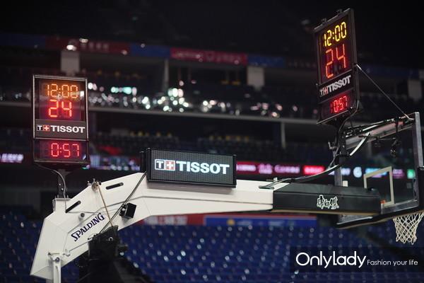 3:天梭表全新NBA 计时系统