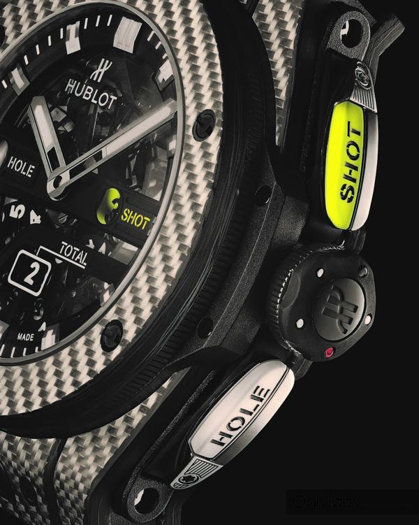 Big Bang Unico高尔夫腕表-细节展示