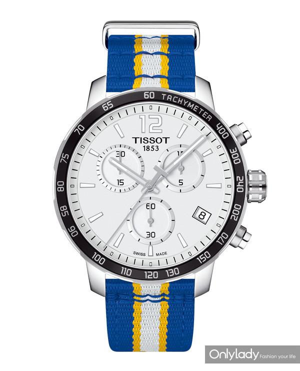11:天梭时捷系列勇士队特别款腕表