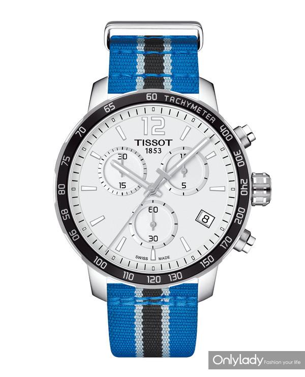 13:天梭时捷系列森林狼队特别款腕表