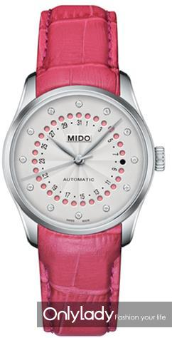 瑞士美度表BELLUNA布鲁纳系列长动能真钻女士腕表