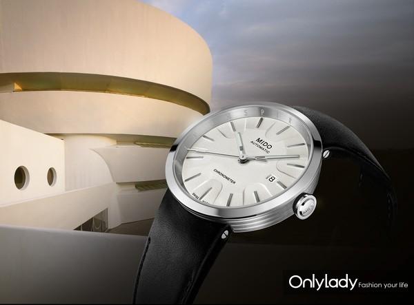 """瑞士美度表INSPIRED BY ARCHITECTURE """"灵感源于建筑""""限量款腕表 M034.408.16.261.00 - 公关图"""