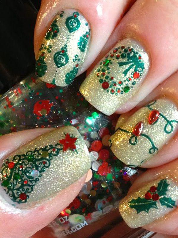Christmas-Nail-Art-Designs-2016-for-Girls-4