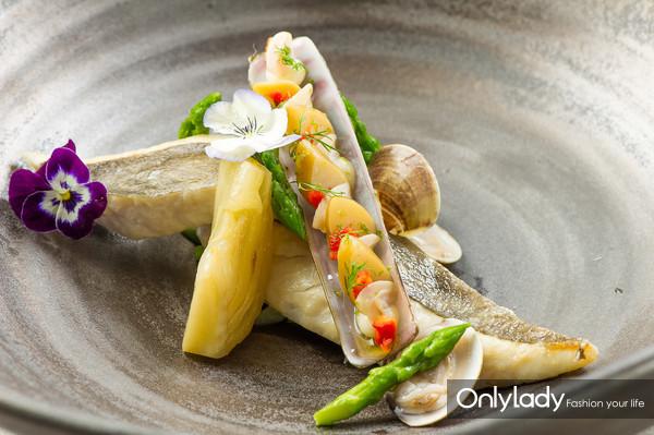 慢煮日式海鲂鱼