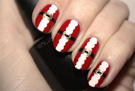 Easy-Santa-Nail-Art-Designs-Ideas-2013-2014-Xmas-Nails-111