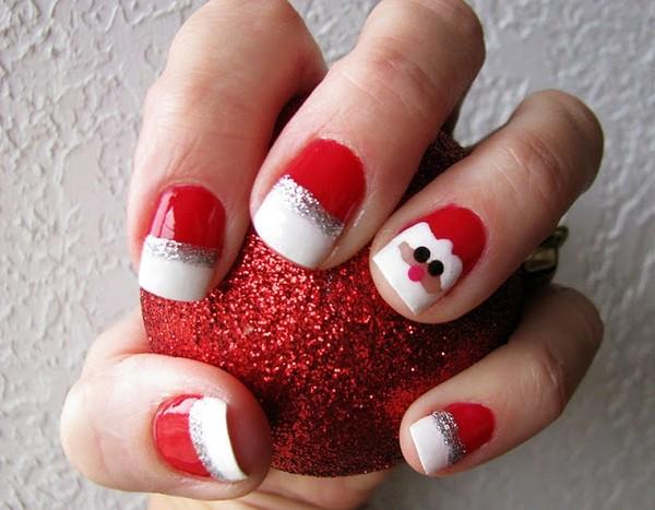 Santa-nail-art-ideas