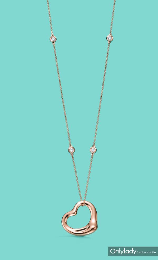 Tiffany & Co. 蒂芙尼Elsa Peretti系列中国限量版项链10
