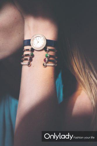Piaget Possession 腕表搭配手镯