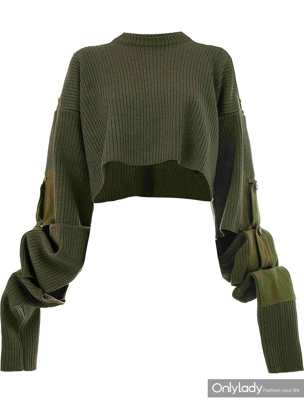 Y PROJECT cropped sweater at Farfetch